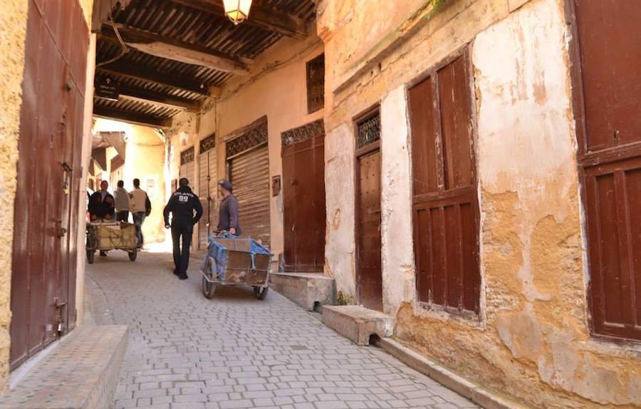 Fez Medina, a car-free city