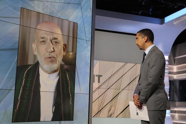 Former Afghan president calls al-Qaeda a 'myth' and denies 9/11 attacks were plotted in Afghanistan
