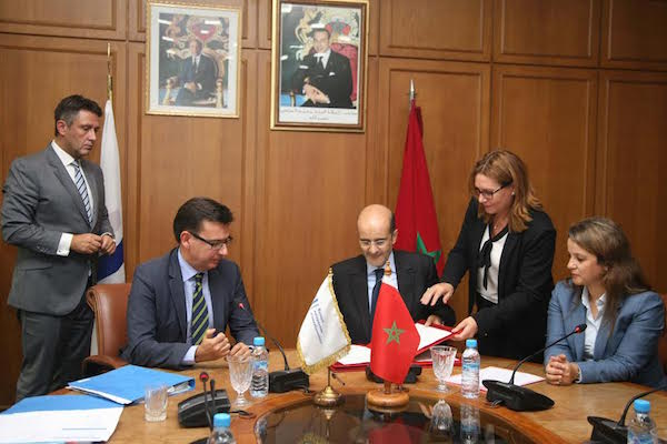 Idriss El Azami, Minister Delegate for the Budget, as well as Charafat Afilal, Minister Delegate to the Minister of Energy, Mines, Water, and Environment In Charge of Water