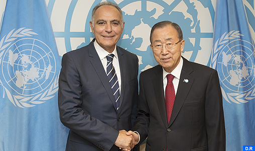 Secretary General meeting Foreign Minister, Morocco.