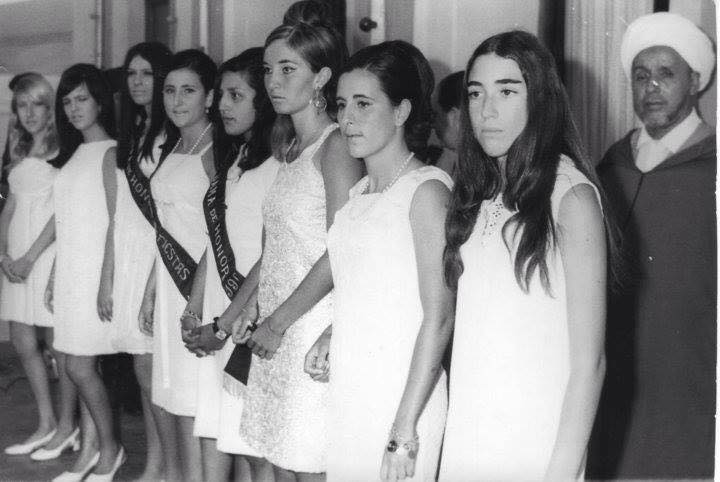 Miss Morocco in 1960's