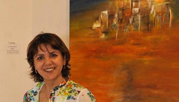 Moroccan painter Hayat Saidi was awarded the International Prize Marco Polo Ambassador of Art