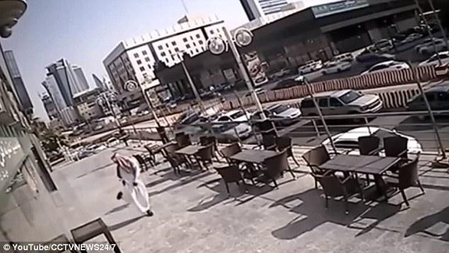 Saudi Man Escapes Tragic Death