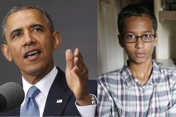 US President Obama Invites Arrested Muslim Student to the White House