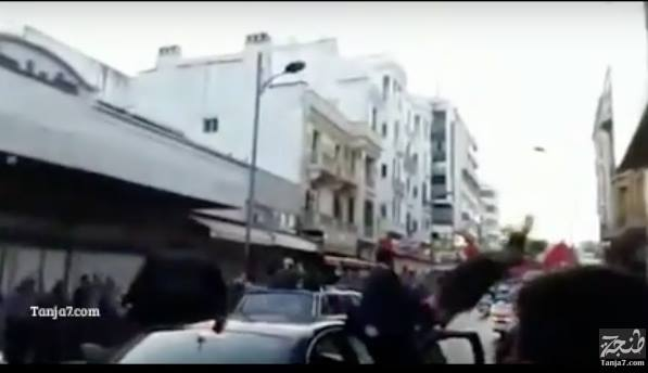 Video: Car of King Mohammed VI's Bodyguards Hits Mentally Disabled Man