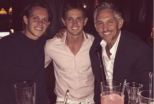 British Footballer Gary Lineker Enjoys Family Holiday in Morocco