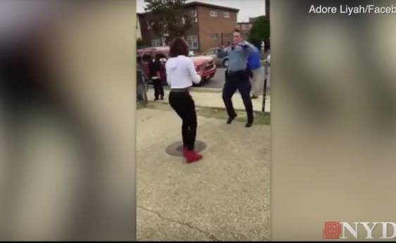 D.C. Cop Stops Fight between Teens with Dance-off Challenge