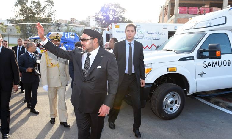 King Mohammed VI Inaugurates 'Tangier-Metropolis' Program