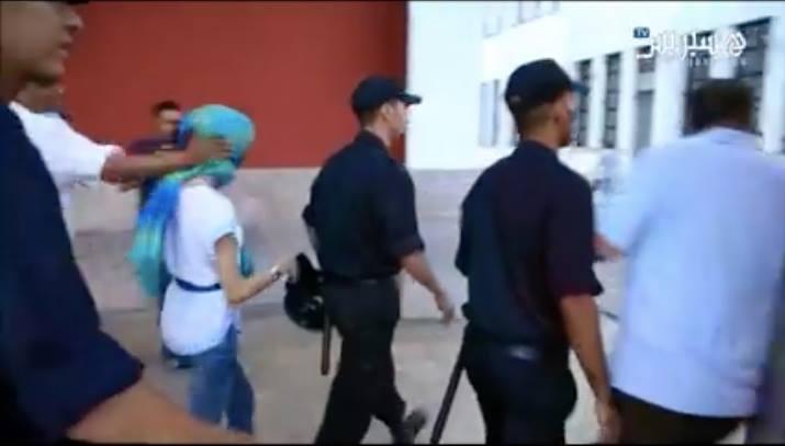 Mina Stampede: Riot Police Violently Suppress Sit-In Against Saudi Arabia in Rabat