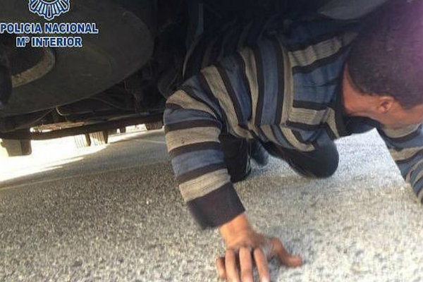Moroccan Boy Caught Hiding Under Bus in Attempt to Enter Spain