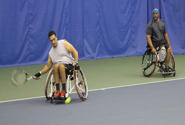 Moroccan Shot in US Last Year Becomes First Moroccan Wheelchair Tennis Player. (2)