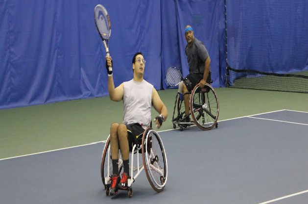Moroccan Shot in US Last Year Becomes First Moroccan Wheelchair Tennis Player.