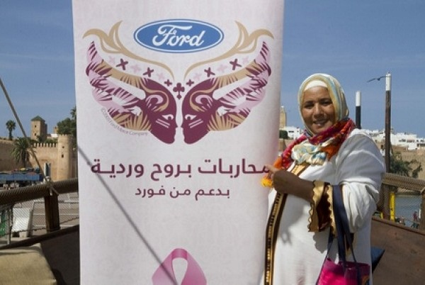 Five Moroccan Women Become Warriors in Pink