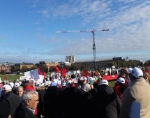 Moroccans March in Stockholm to Defend Morocco's Territorial Integrity