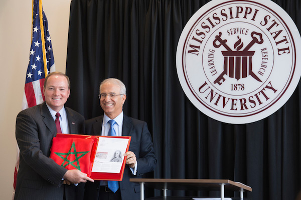 Morocco's Ambassador to the United States, Rachad Bouhlal appointed Mark Everett Keenum as the Kingdom's Honorary Consul in the State of Mississippi.
