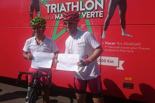 Nacer Ibn Abdeljalil, Mohamed Lahna Launch 'Green March Triathlon'