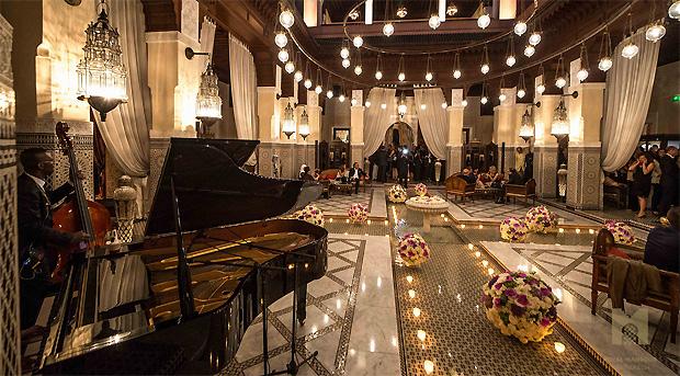 The Royal Mansour Patio
