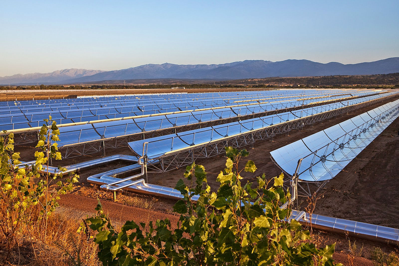 Solar Power Plant in Ouarzazate