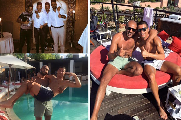 Spanish Press Says Ronaldo's Friendship With Badr Hari Is Controversial