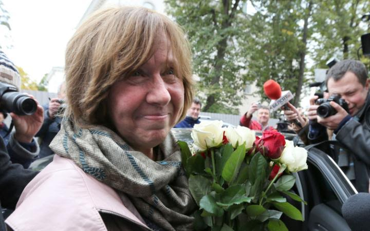 Svetlana Alexievich Wins 2015 Nobel Prize for Literature