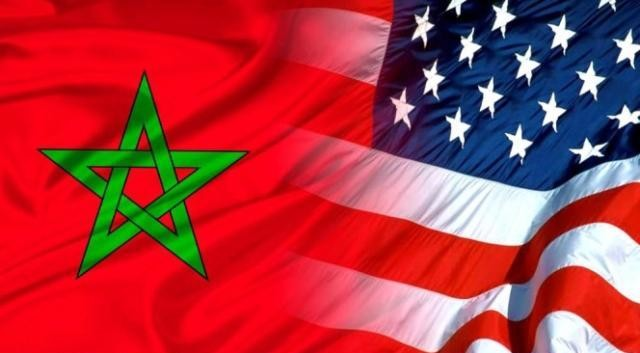 US-Morocco flag