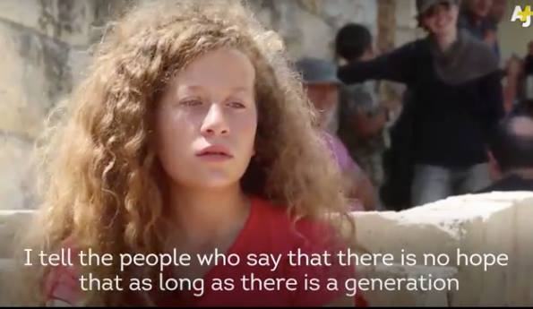 Video: Meet the Palestinian Girl Who Confronts Israeli Soldiers