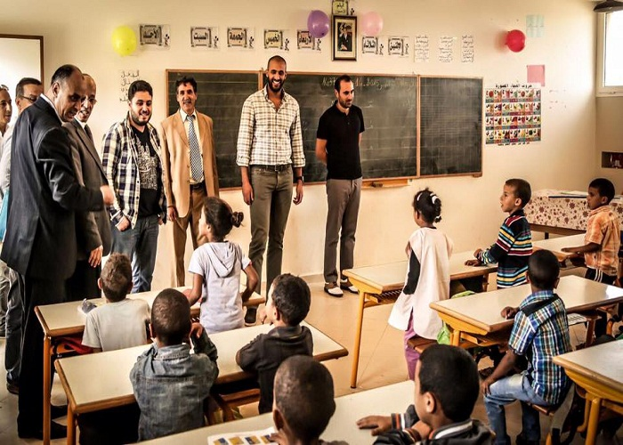 badr hari with students
