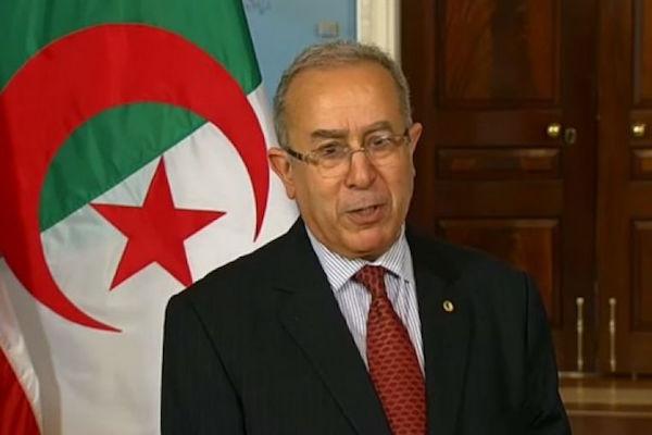Algerian Foreign Minister Ramtane Lamamra