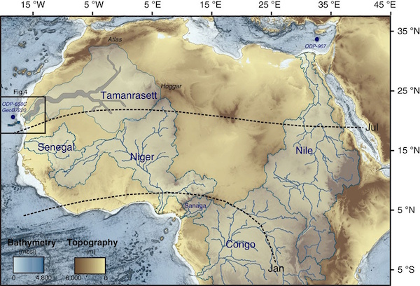 Discovery of Ancient River System Shows Sahara Was Once Thriving Ecosystem