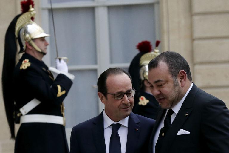 Hollande Thanks King Mohammed VI for 'Effective Assistance' After Paris Attacks