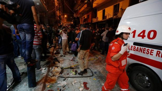 It is the deadliest bomb attack in Beirut since the civil war ended a quarter of a century ago