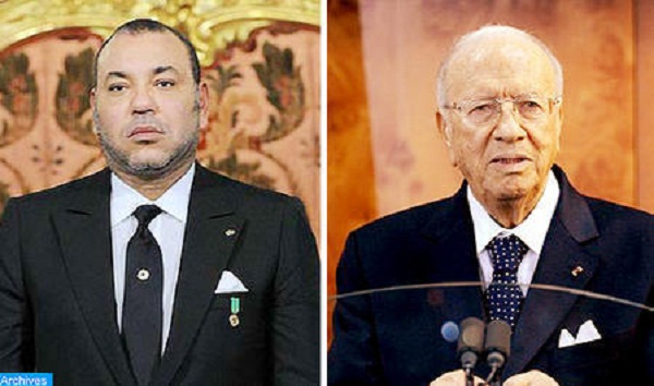 King Mohammed VI and Beji Caid Essebsi