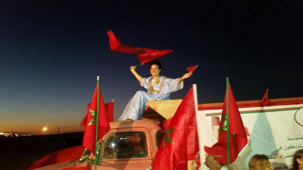 Moroccan American Joshua Cohen in Laayoune