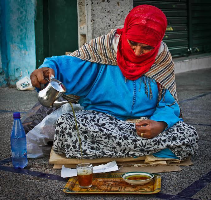 Moroccan Tea, by Marouane Sitti