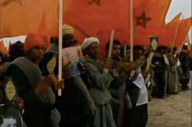 Never-Seen Before Footage of Morocco's Green March