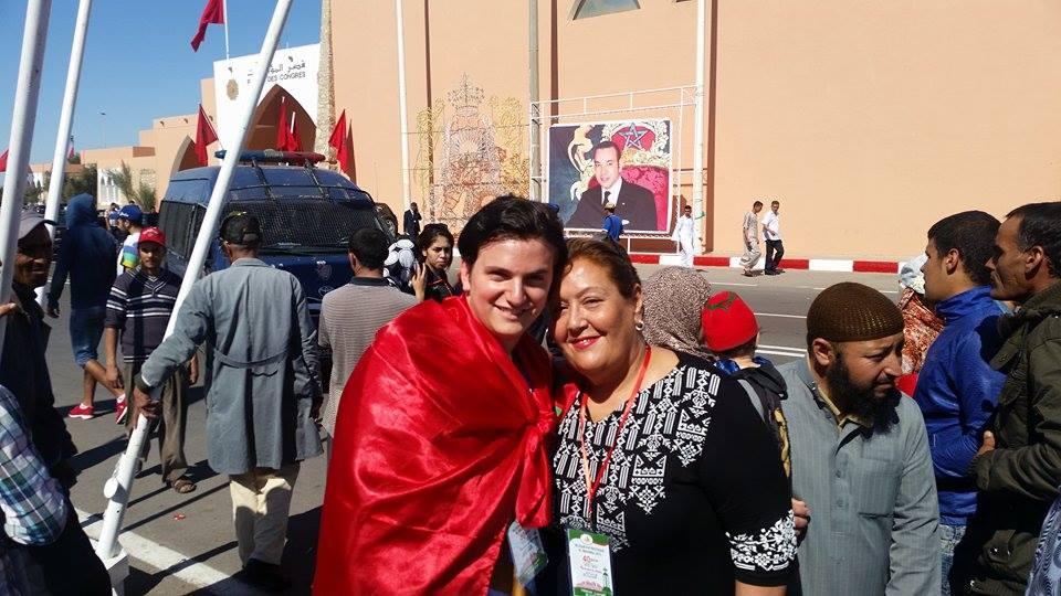 Nicole Elgrissy, a Moroccan Jewish writer in Casablanca and Moroccan American Jew Joshua Cohen