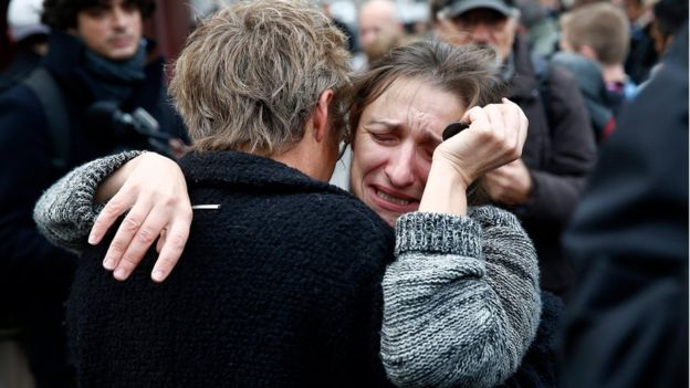 Paris is in mourning after Friday night's wave of attacks