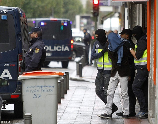 Spanish Police arrests Moroccan jihadists