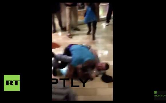 Video: Huge Black Friday Fight in Kentucky