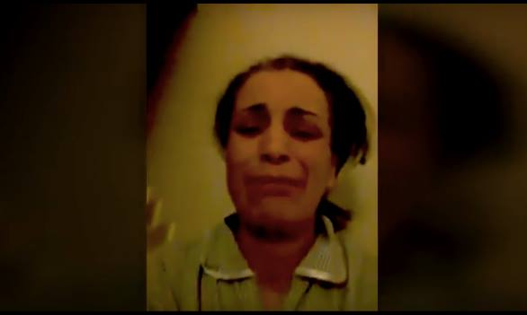 Video: Saudi Woman Tortures Moroccan Maid, Holds Her Captive