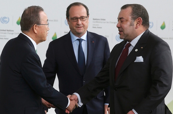 What Tunisians Said About King Mohammed VI's Arrival in Paris COP21