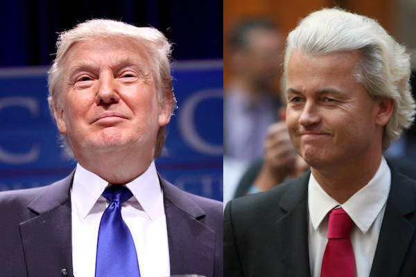 Geert Wilders Hopes Donald Trump Will Be Next American President