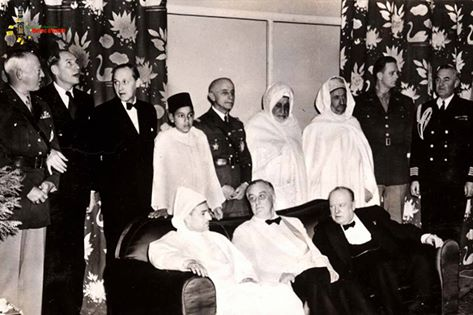 In 1943, Casablanca was the center of world attention at the conference of Anfa