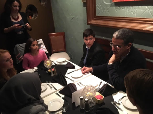 Minister Rabbah Makes the Rounds in Dallas, Texas