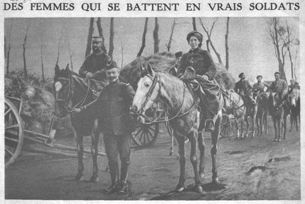 Photo of Fatima, a Moroccan woman who served in the French army.