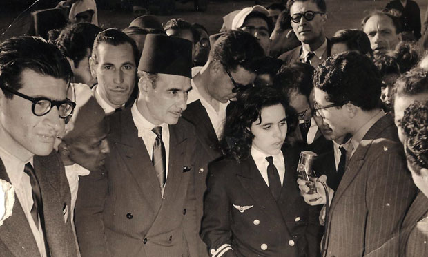 Photo of Touria Chaoui, the first Moroccan woman pilot