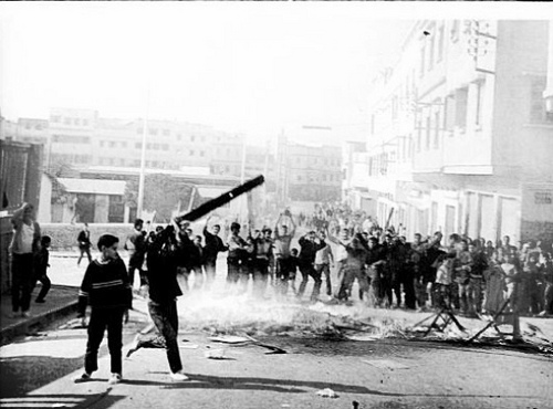 The uprising of March 23, 1965 in Casablanca