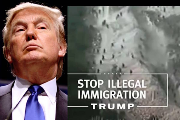 Donald Trump TV Ad Disguises Morocco's Border as US-Mexico Border