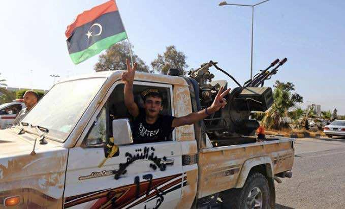 Fajr Libya brigades in action