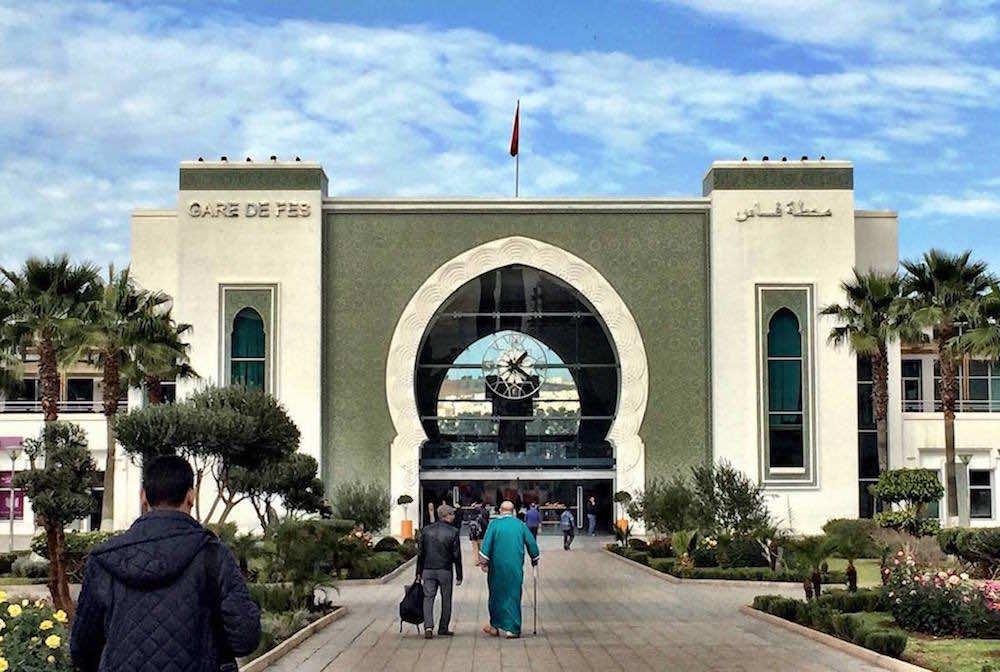 Fez train station, Morocco